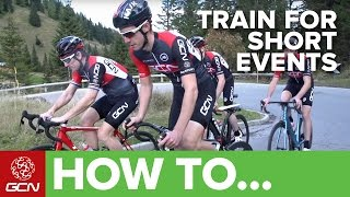 How To Train For Shorter Sportives or Gran Fondos