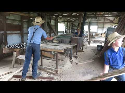 Inside An Amish Sawmill And How It Works | Lets Go Inside!!!!!!!!