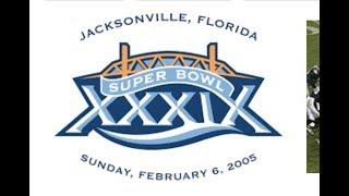 SCRIPTED | Patriots vs Jaguars AFC Championship +Super Bowl 39, Pats over Eagles @ Jacksonville