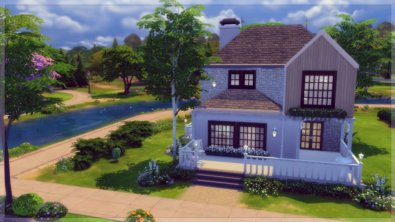 The Sims 4 House Build - Small Family Home - Mulberry House