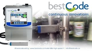 bestcode 88s high speed one ultra high speed brewery coding and marking