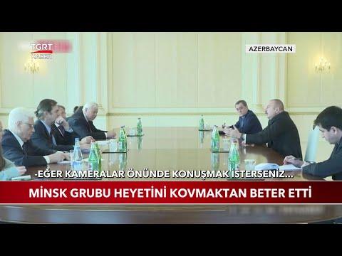 Aliyev Minsk Grubu Heyetini Kovmaktan Beter Etti