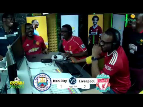 Manchester City v Liverpool Live Commentary