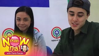 Push Now Na Exclusive: Chikahan with Maymay Entrata and Edward Barber