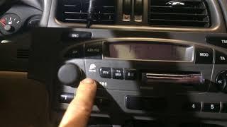 AUX Nissan Primera P11 (часть 2)