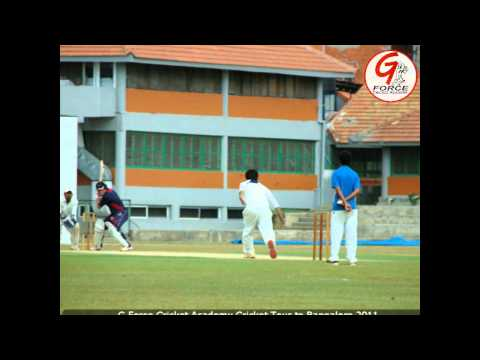 G Force Cricket Tour to Bangalore 2011