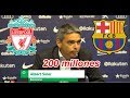 Liverpool pidió 200 millones al Barcelona por Coutinho - Albert Soler