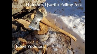 Hultafors Qvarfot Felling Axe  - Jonas Vildmark