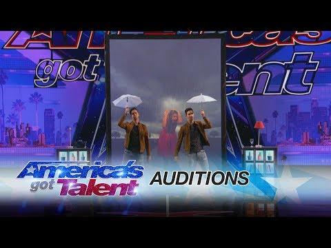 Tony and Jordan: Identical Twins Dazzle With Magic - America's Got Talent 2017