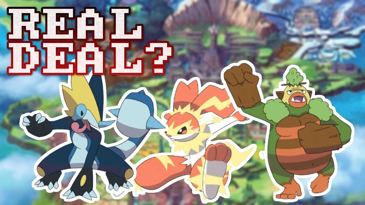 Are These Real Final Starter Evolution Leaks Pokemon Sword And