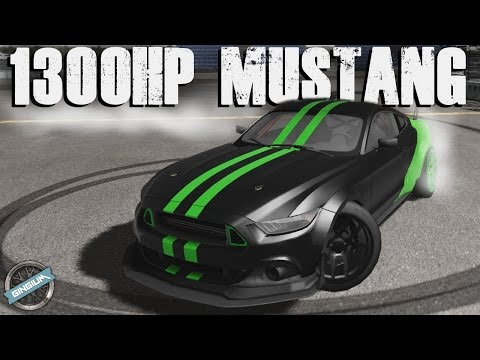 1300HP MUSTANG DRIFTING + CUSTOMIZATION!! || Peak Angle (Drift Online)