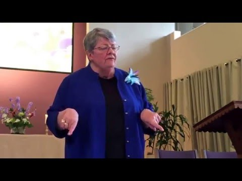 Rev Sandra Butler, Evolve Your God, at Community on the Hill, May 1, 2016