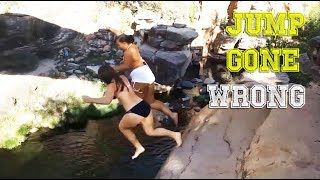 JUMP INTO WATER GONE WRONG fails pt.4 [FailForceOne]