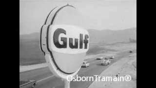 Gulf Gasoline Travel Service Commercial 1964