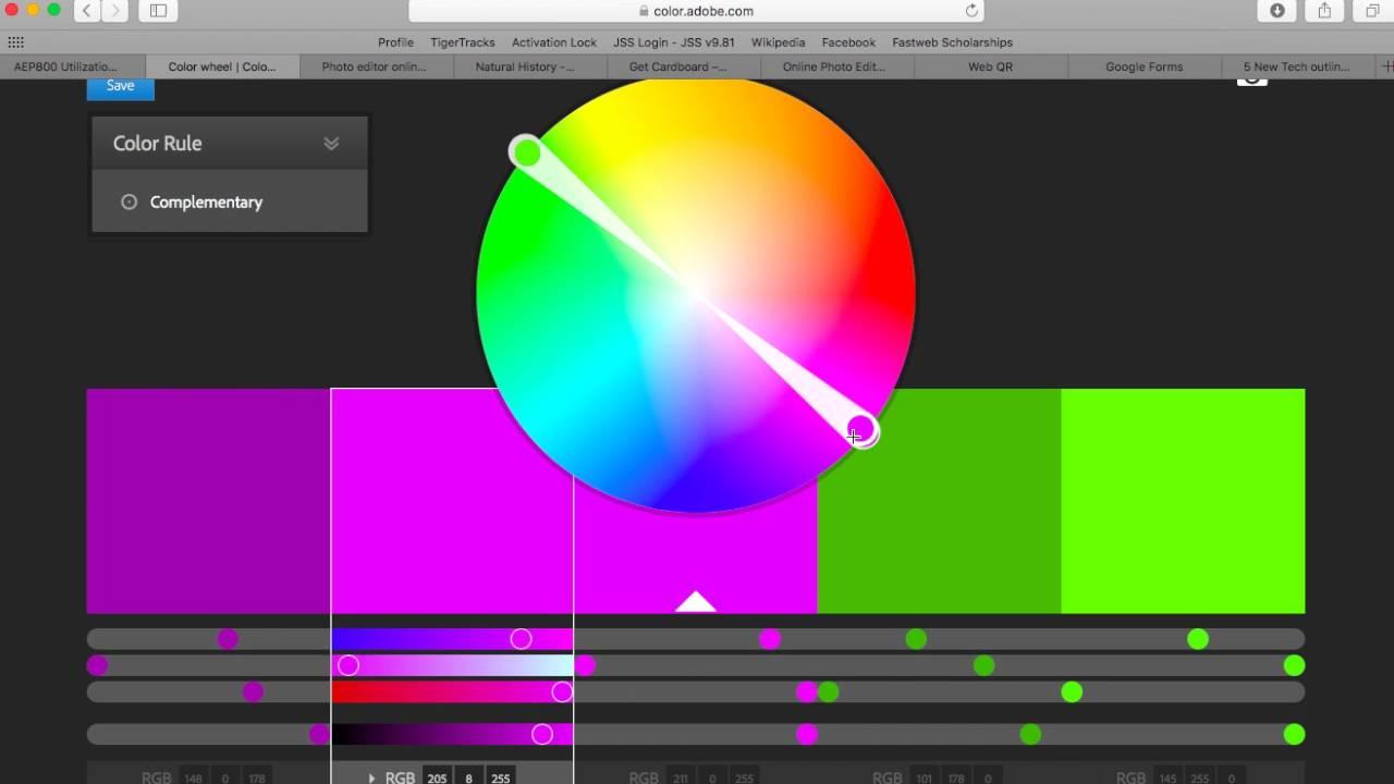 Color adobe online - Adobe Color Cc