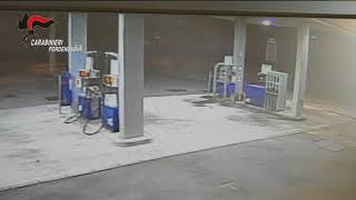 Disgruntled Gas Station Customer Returns and Sparks Blaze at Pump