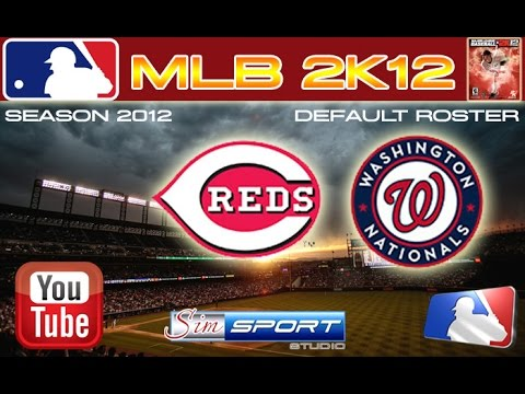 Cincinnati Reds - Washington Nationals. MLB2K12
