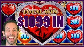 🙏Feeling the HIGH LIMIT 💜 with $1099 IN 🎰!!✦ Slot Machine Pokies w Brian Christopher