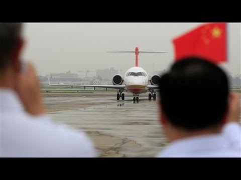 China's First Home-Built Jetliner Takes Flight