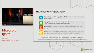 Microsoft Power BI: Next generation data connectivity and data preparation using - BRK3404