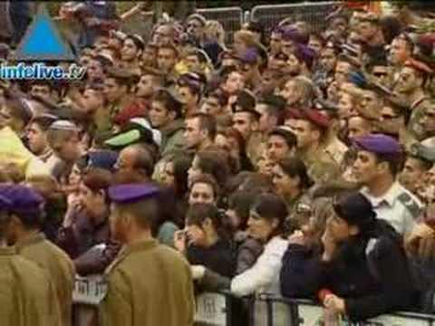 Thousands Mourn Slain Soldier Staff Sergeant Eran Dan Gur As