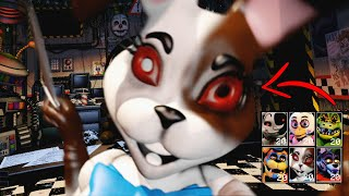 Me ENFRENTO A VANNY, MOON y A TODOS LOS ANIMATRONICOS DE FNAF 9 SECURITY BREACH ! ALL JUMPSCARES