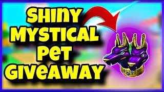 MAGNET SIMULATOR SHINY MYSTICAL PET GIVEAWAY 200+ UPDATE 19 | FREE ON ROBLOX