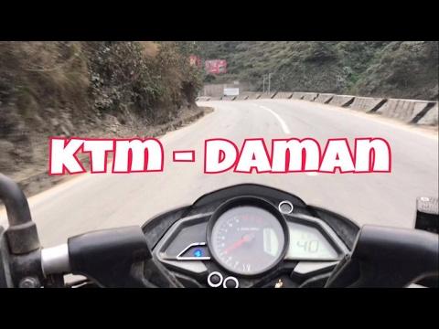 RIDE TO DAMAN NEPAL | KTM - DAMAN | 2017