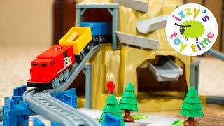 Wackmaster Power Rails Railway | Fun Toy Trains  | GOLD MOUNTAIN! Videos for Children