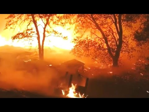 California wildfire could cut power to Yosemite