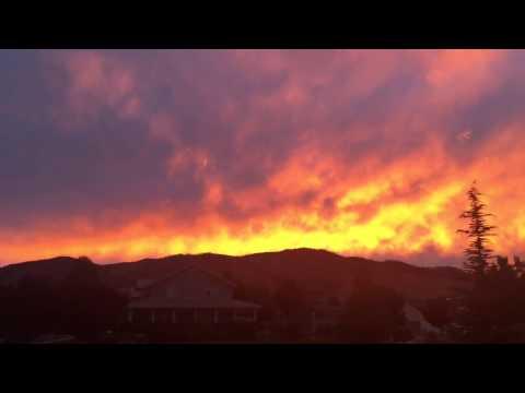 Skyline August 6, 2015 Carson City, Nevada