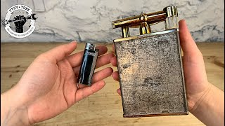 HUGE Antique Table Lighter - Restoration