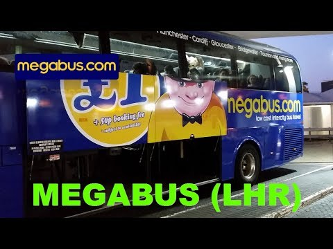 £2 50 return to Bath on new Megabus route from Heathrow to Bath, UK review