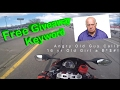| Gas squirting from my TANK? | FREE Giveaway Key Word | Angry Guy Makes Girl Quit Job | MotoVlog #3