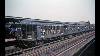 N.Y.C  RAILFANTRIPS ELS & SUBWAYS 1958-'87  MOVIE FOOTAGE UNEDITED
