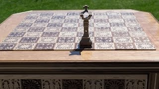 Making a chess Table part 3