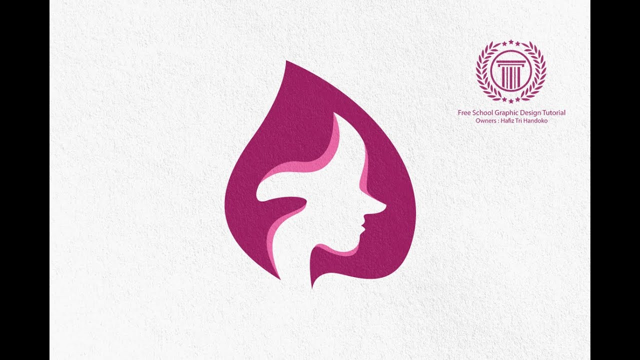 Simple Spa Beauty Logo Design Tutorial - How to Create ...