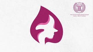 Simple Spa Beauty Logo Design Tutorial - How to Create Beauty Logo in Adobe illustrator CS6