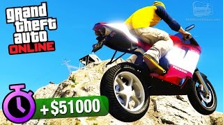 GTA Online - Time Trial #8 - Up Chiliad (Under Par Time)