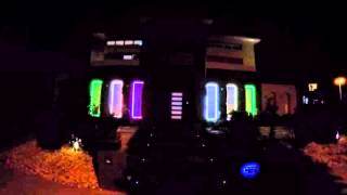 Guns N Roses Xmas Lights