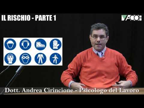 Corso online: Salute e sicurezza sul lavoro - Formazione Generale - Il Rischio (parte 1)