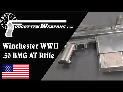 Winchester WWII 50 AT rifle