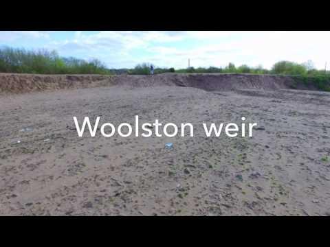 Quick Flight Around Woolston Weir