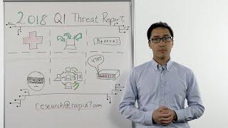 Whiteboard Wednesday: 2018 Q1 Threat Report
