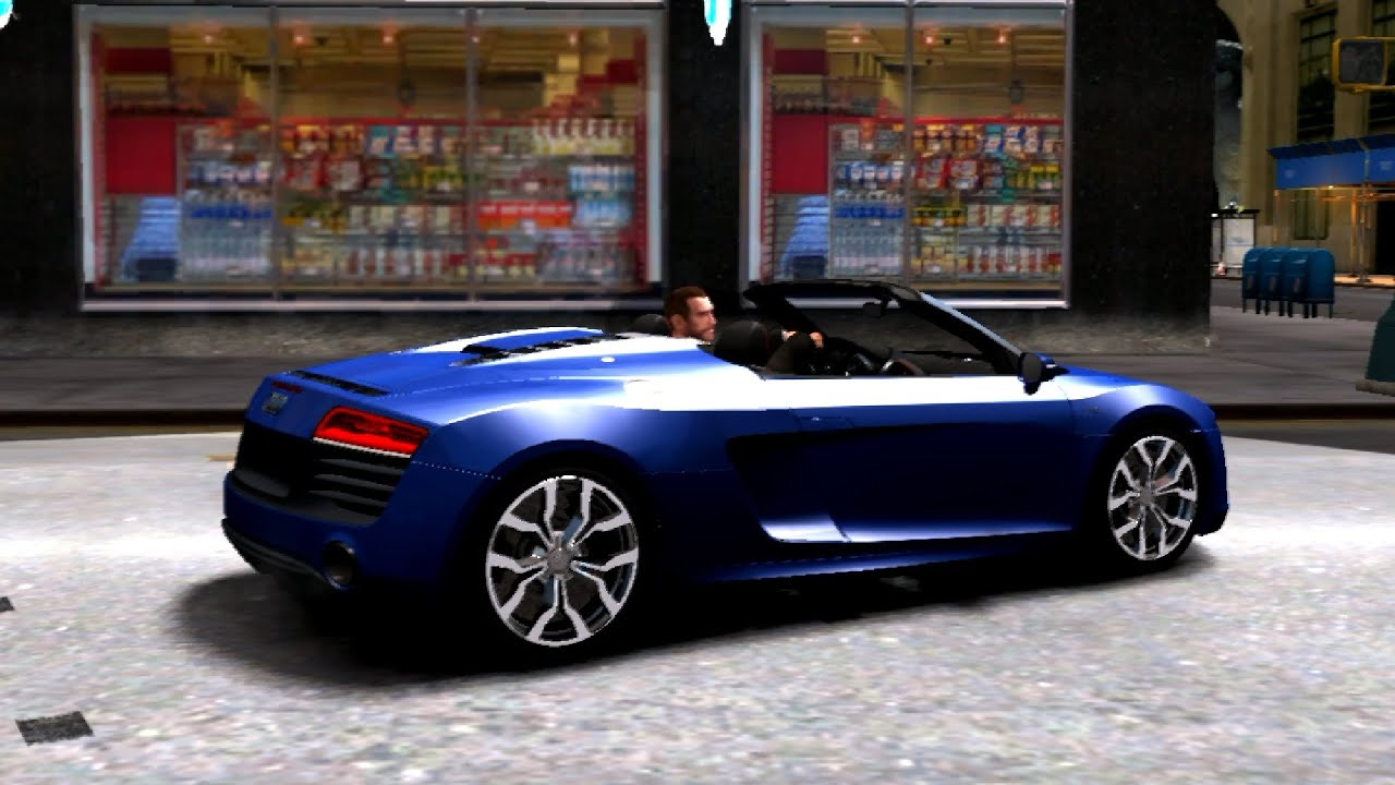 #80 2014 Audi R8 Spyder EPM | New Cars / Vehicles In GTA IV [60 FPS]