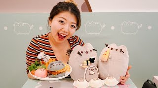I Visit the Pusheen Cafe in Singapore
