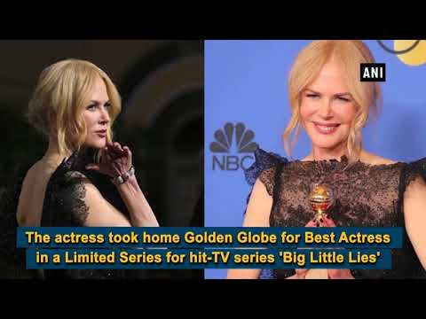 Golden Globes 2018: Nicole Kidman wins Best Actress in Limited Series