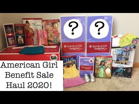 American Girl Benefit Sale Haul 2020! (Watch Till The End For A Surprise Announcement!)