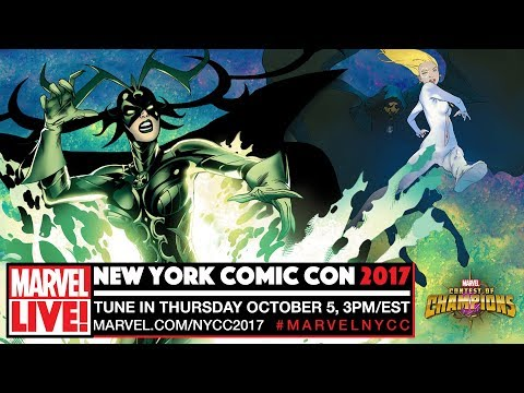 Marvel LIVE! at New York Comic-Con 2017 - Day 1