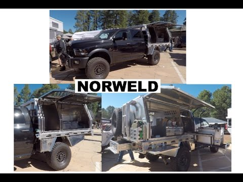 Flatbed/truck tray by NORWELD : Overland Expo 2017 - YouTube